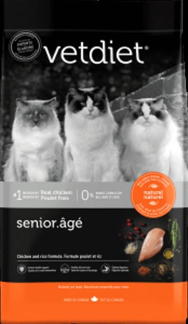Vet Diet Senior Cat Food 3.5 lbs (3/20) (A.M1)