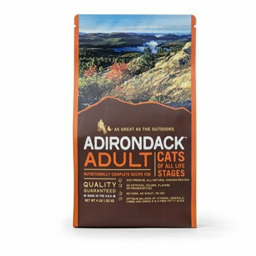 Adirondack Pet Food Adult Nutritionally Complete For Cats Of All Life 13 lbs