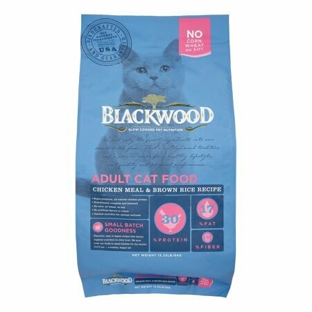Blackwood Adult Cat, Chicken Meal & Brown Rice Recipe, 13.23 Lb