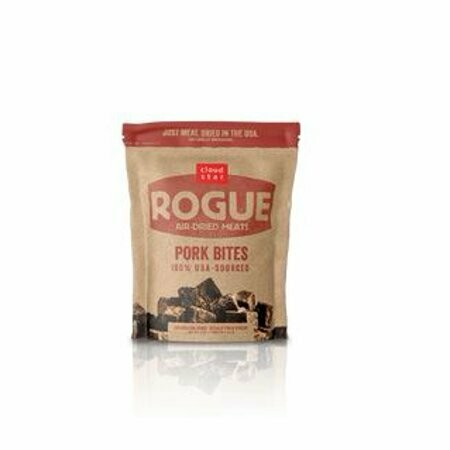 Cloud Star Rogue Air-Dried meats Pork Bites Single-Protein Source Freeze-Dried Raw Dog Treats 7.8 oz (9/19) (T.D5-JD)