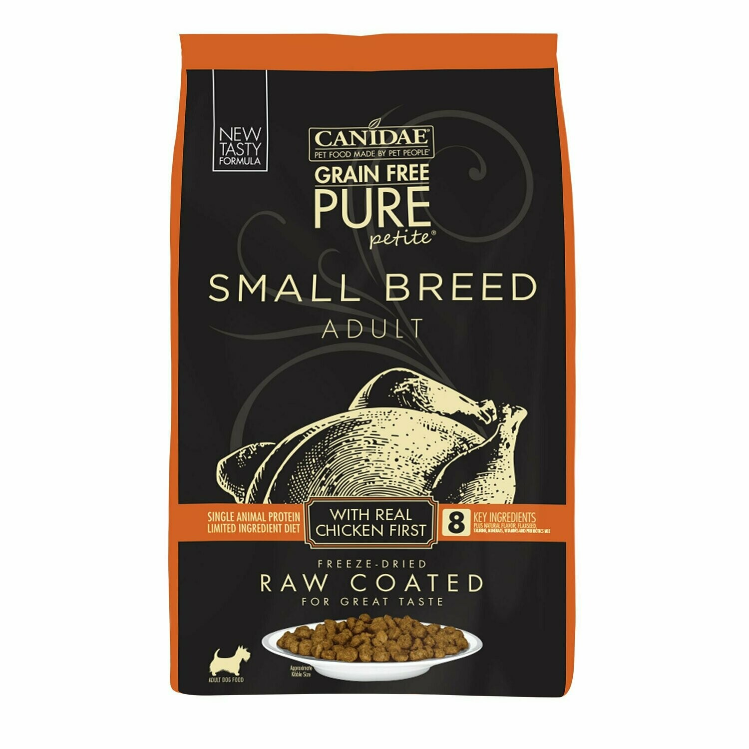 Canidae-Pure-Canidae Pure Petite Small Breed Adult Dog Food- Fresh Chicken 10 Lb