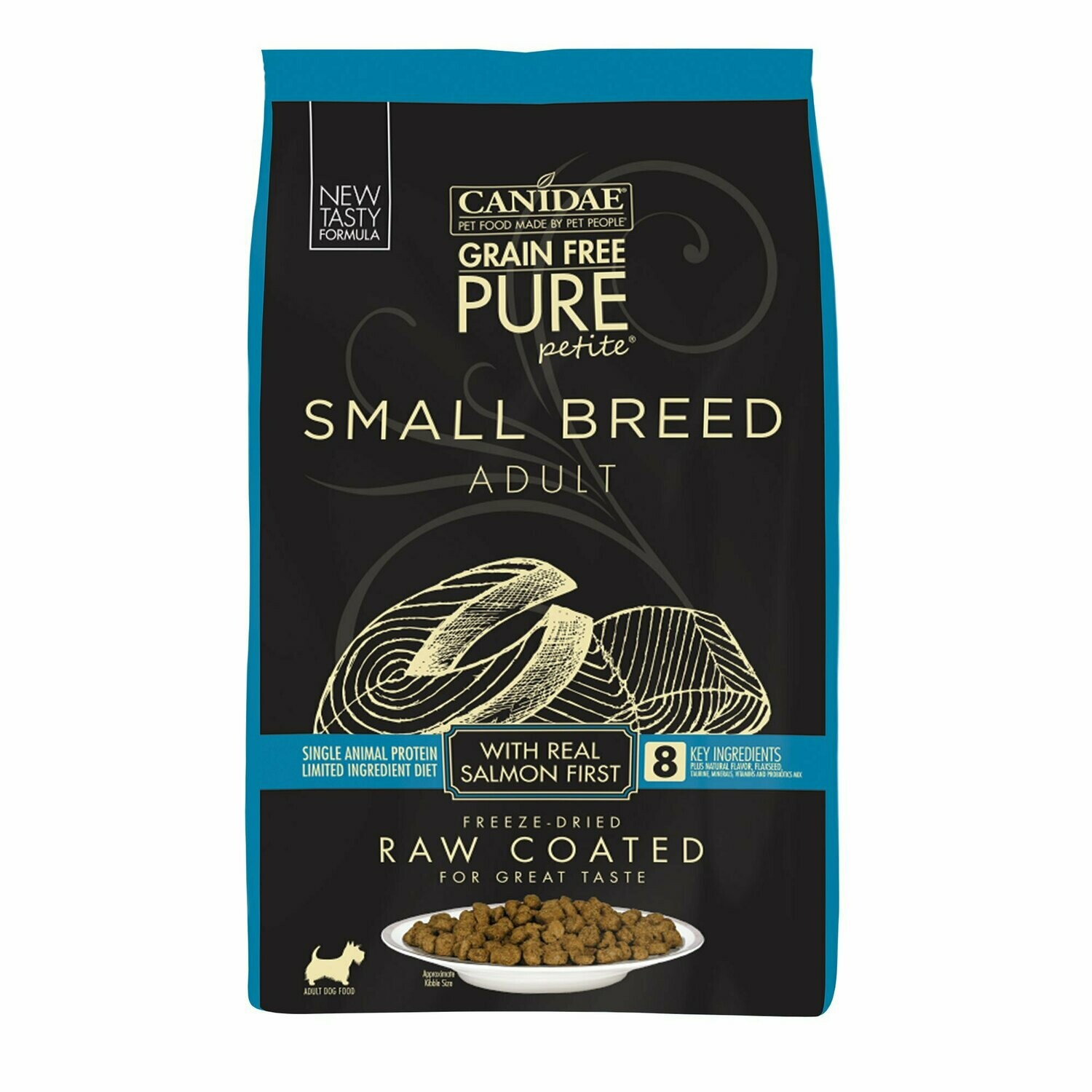 Canidae-Pure-Canidae Pure Petite Small Breed Adult Dog Food- Fresh Salmon 10 Lb