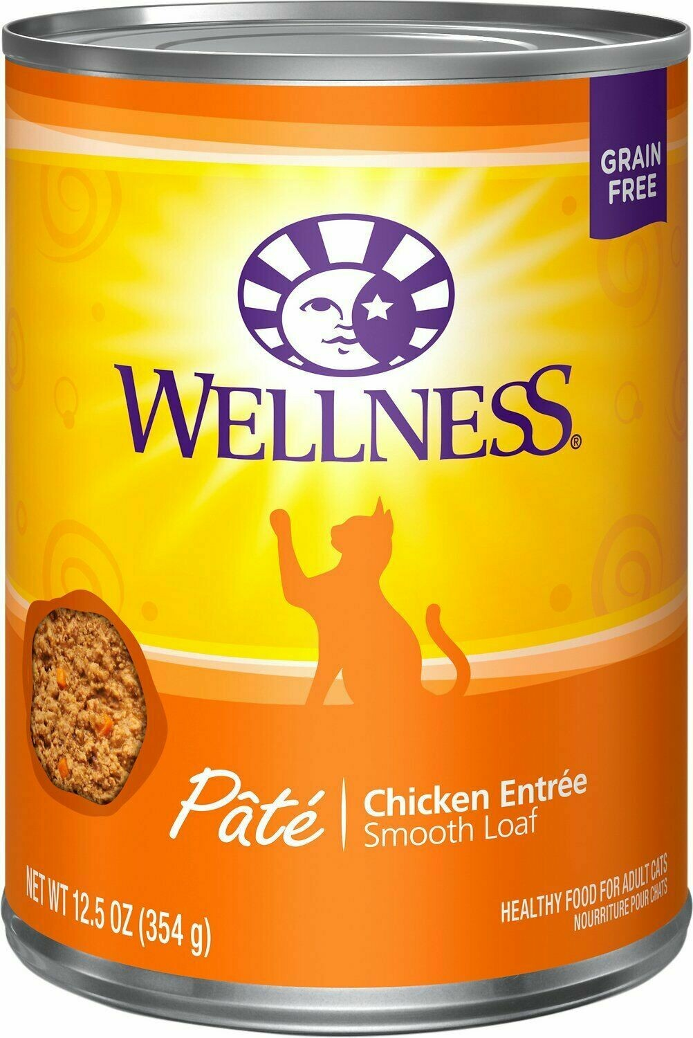 WELLNESS DIVINE DUOS CHICKEN/DUCK WET CAT FOOD 2.8 OZ 1 COUNT (5/18) (SINGLES-JD)