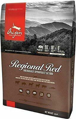 Orijen Regional Red Freeze-Dried Cat Food 12 oz (11/19) (T.F2-JD)