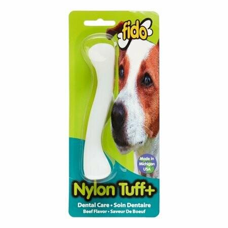 "AMAZON-Fido, 5-1/4"" Nylon Tuff Plus Beef Flavor (T.B14/AM19)"