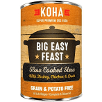 KOHA BIG EASY FEAST SLOW COOKED STEW GRAIN-FREE CHICKEN, DUCK, TURKEY 13 OZ 12 Count (9/20) (A.J1)