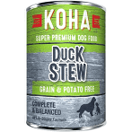 KOHA Grain-Free Duck Stew Can Dog Food 12.7 oz 12 count (7/20) (A.O8-PB)