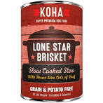 KOHA Grain-Free Lone Star Brisket Slow Cooked Stew with Beef Can Dog Food 12.7 oz 12 count (1/21) (A.O5)