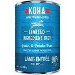 KOHA Grain-Free Limited Ingredient Diet Lamb Entree with Apples Can Dog Food 12.7 oz 12 count (2/21) (A.O5)