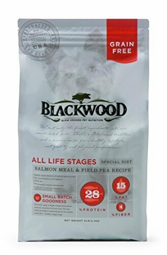 Blackwood Pet Food All Life Stages Special Diet Grain Free Salmon Meal & Potato 30 lbs (7/19) (A.E4)