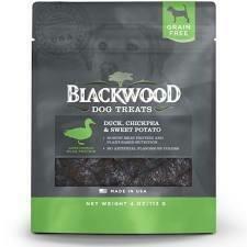 Blackwood Pet Food Dog Treats Duck Chickpea & Sweet Potato 4 oz (3/19) (T.A10/A14)