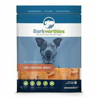 Barkworthies Chicken With Cranberry & Blueberry Superfood Jerky 4 Oz (3/19) (T.C12)