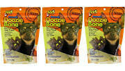 Fido Naturals Doozie Bone Dental Care Dog Bones, Cheese Flavor, 21ct (mini) (9/18) (T.G5)