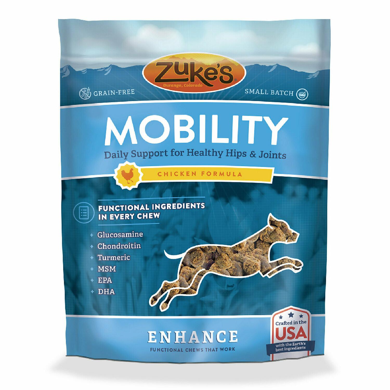 Zuke's Enhance Mobility Formula Functional Chicken Dog Chews 5 oz  (12/18) (T.B8-JD)