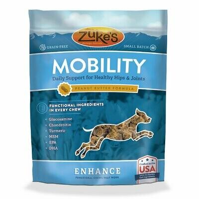 Zuke's Enhance Mobility Formula Functional Peanut Butter Dog Chews 5 oz (7/19) (T.C14)