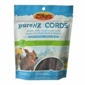 Zuke's Purenz Cords Beef & Duck Dog Treats 5 oz (8/19) (T.D3-JD)