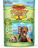 Zuke's Skinny Bakes 5 Calorie Dog treats - Peanut Butter & Apples 12 oz (1/19) (T.E3-JD)