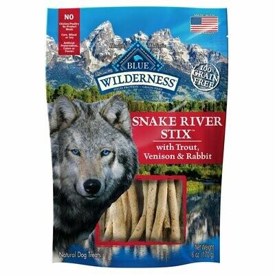 Blue Buffalo Snake River Stix Dog Treats, 6 oz. (2/19) (T.E4)