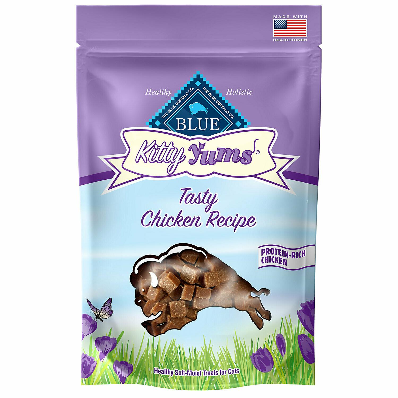 Blue Buffalo Kitty Yums Cat Treats (2 oz.; Tasty Chicken) (11/19) (T.B1)