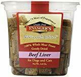 Evanger's Freeze Dried Beef Liver Treat Dog/Cat 4.6 Oz  (1/19) (A.Q2)