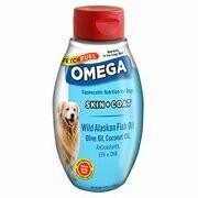 FETCH FUEL Complete Natural Nutrition Fetch Fuel Omega Bottle Alaskan Fish Oil, Olive Oil, & Coconut Oil (11/19) (T.E14)