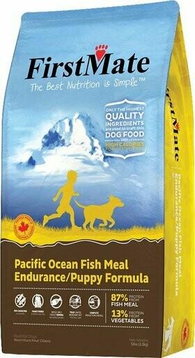 FirstMate Endurance & Puppy Pacific Ocean Fish Meal Formula Grain-Free