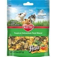 Kaytee Tropical Adventure Treat Blend for Hamster, Gerbil, Rat & Mouse 7 Oz (1/19) (B.A4)