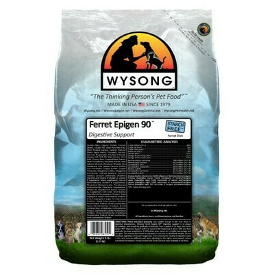 Wysong Epigen 90 Digestive Support Dry Ferret Food 5 lbs (3/19) (A.C2)