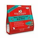 Stella & Chewy's Freeze-Dried Savory Salmon & Cod Meal Mixer for Dogs 9 oz (10/19) (T.E5)