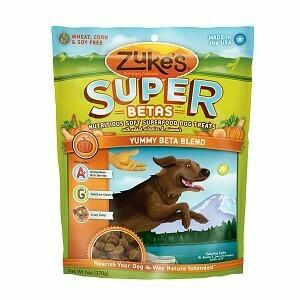 Zuke's Super Betas, Yummy Betas Blend, 6 oz (2/20) (T.D3/T.E9)