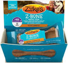 Zuke's Z-bone Dental Chew W/ Carrots, Large 12ct (1/20) (T.A15)