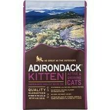 Adirondack kitten active in growing cats no corn, no soy, no wheat all-natural chicken protein 4 pounds