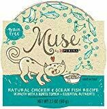Purina Muse grain free pate natural salmon recipe Adult cat food 3 ounces 24 counts (4/20)