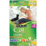 Purina cat chow indoor 22 pounds  (11/20)