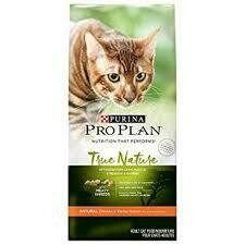 Purina Pro plan true nature chicken and barley recipe for cats 6 pounds (12/19)