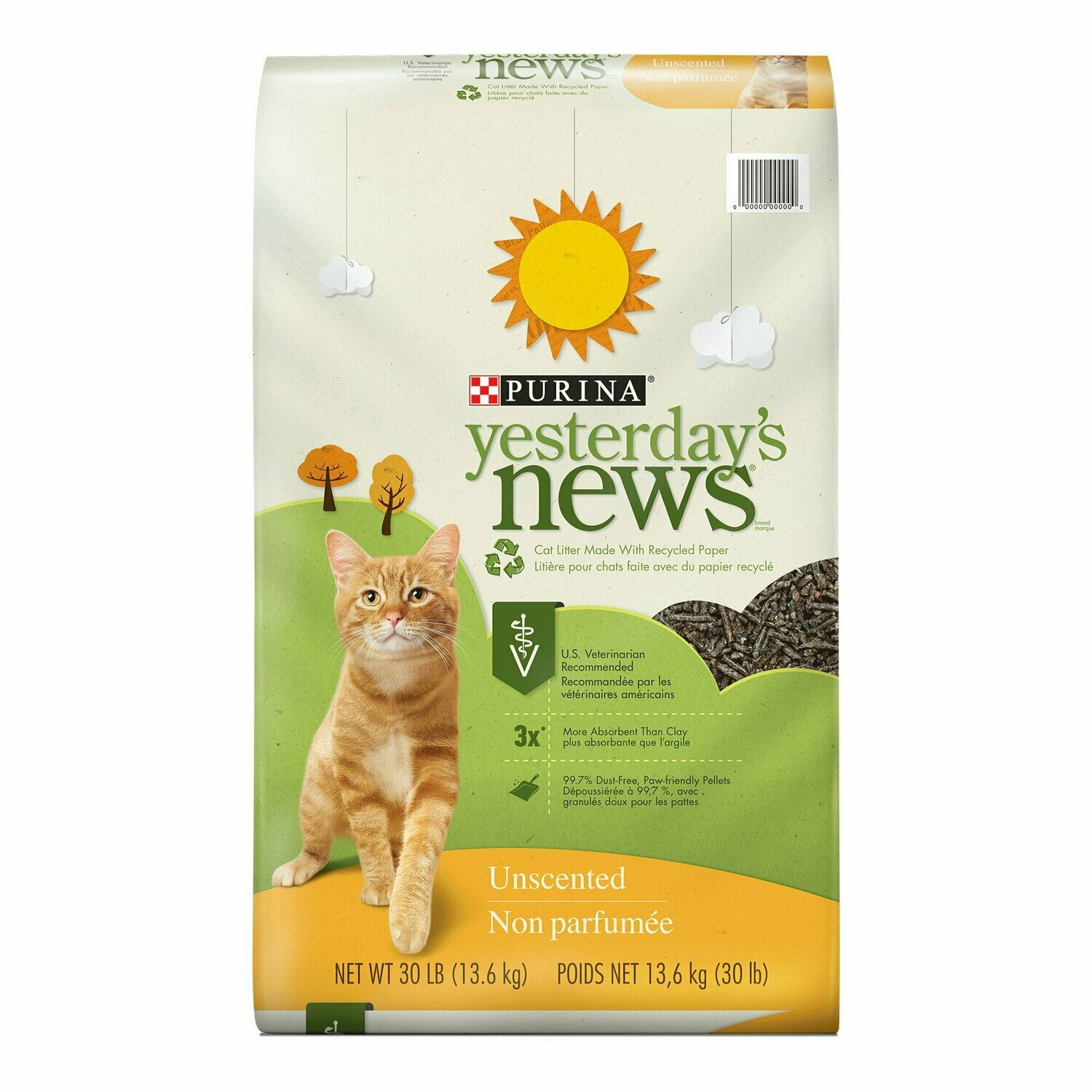 Purina cat litter open bags quantity 31 pounds**OPEN/TORN BAG**