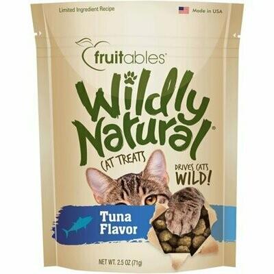 Fruitables wildly natural cat treats tuna flavor 2.5 ounces  (11/19)