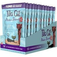 Tiki cat aloha friends with calamari and pumpkin 12 pouches 3 ounce (6/20)