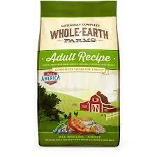 "Merrick Earth Farms Adult ""Digestive Health"" Dry Dog Food 5 lbs (3/19)"