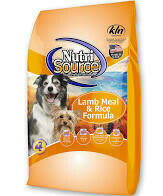 Nutri source super-premium.pet food for dogs lamb meal and Rice formula all life stages 18 pounds (6/19)