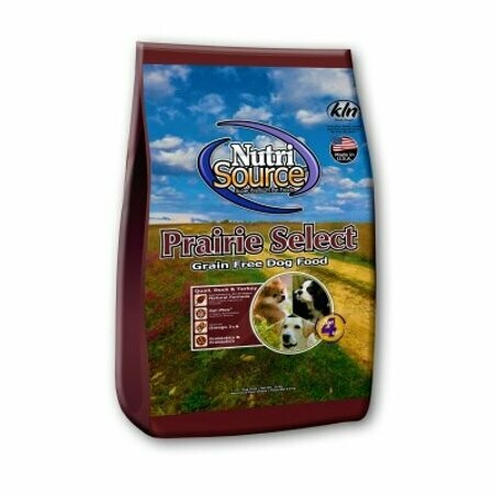 Nutro source Prairie select grain-free dog food made with Quail 5 pounds (7/19)