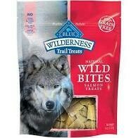 Blue Buffalo Wilderness Grain-Free Wild Bites Dog Treats - Salmon  (10/19)