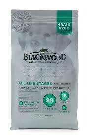 Blackwood all life stages special diet chicken meal and field pea recipe 5 pounds for dogs