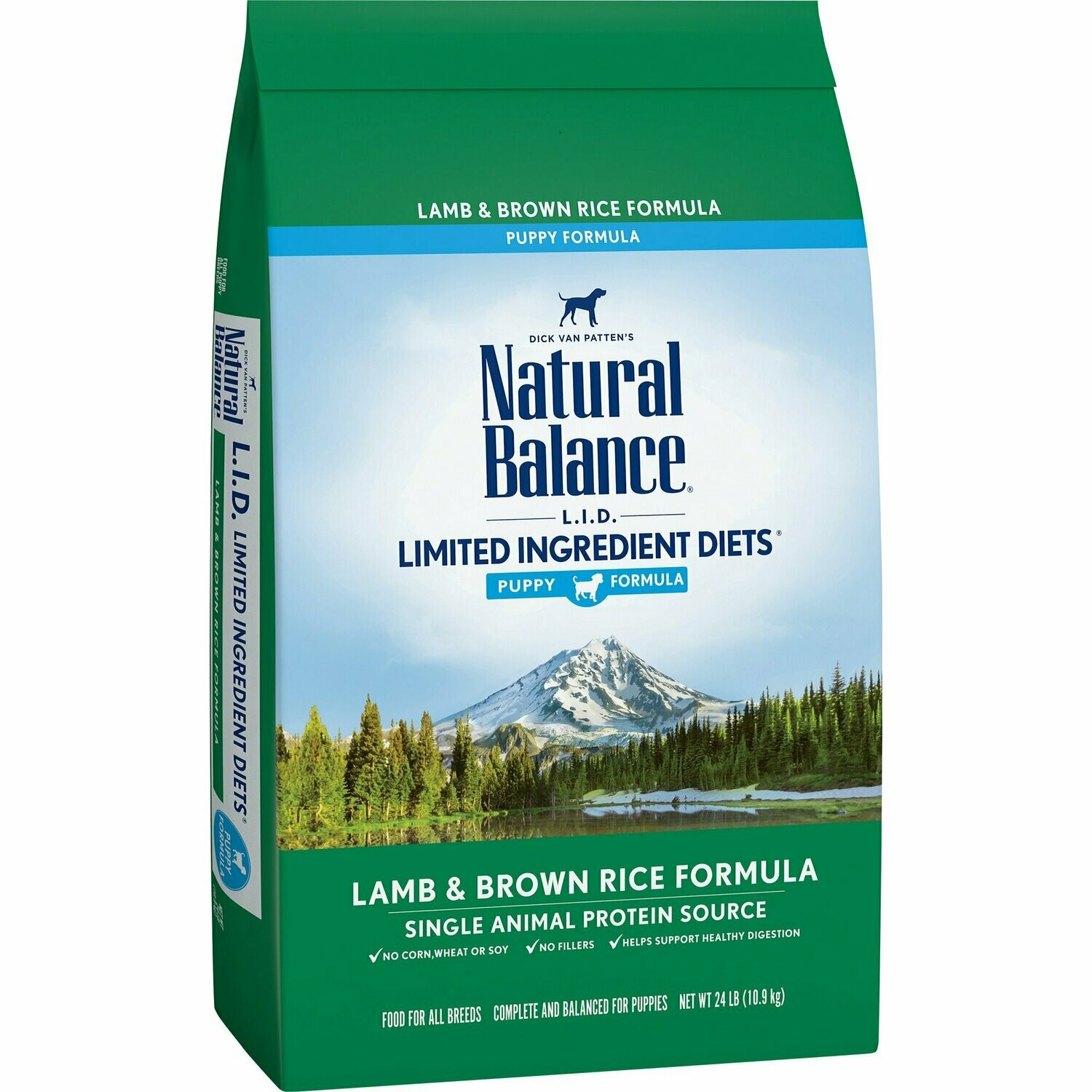 Natural balance limited ingredient diet puppy formula lamb and brown rice 4.5 pounds (3/20)