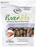 Nutri source Pure Vita nutritious dog treats skin and coat made with real salmon 6 ounces (12/19)