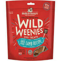 Stella and to ease freeze-dried raw wild weenies dog treat grass-fed lamb recipe grain-free 3.25 ounces (10/19)