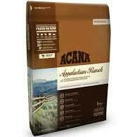 ACANA Appalachian Ranch Dry Cat Food with ranch-raised red meats and freshwater catfish complete food for cats all life stages 12 pounds (8/19)