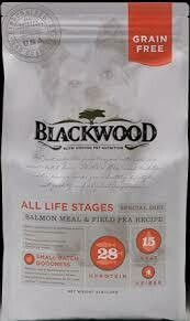 Blackwood slow-cooked pet nutrition all life stages salmon meal and field pea recipe grain-free 15 pounds for dogs