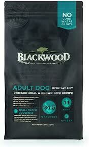 Blackwood slow cooked pet nutrition adult dog chicken meal and brown rice 5 pounds (5/20)