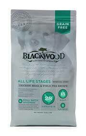 Blackwood slow cooked pet nutrition all life stages chicken meal and field pea recipe for dogs 30 pounds (8/19)